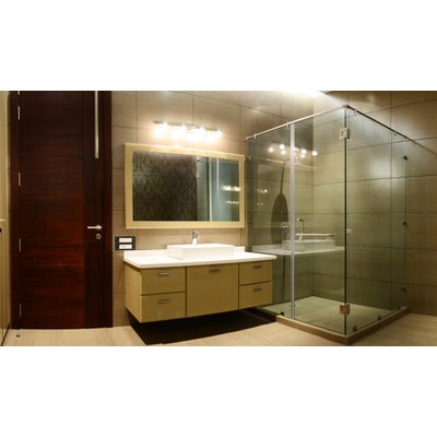 Spa Bathroom Stock Photo - Cropped