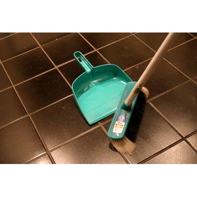 Sweeping ceramic tile