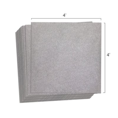 Cerazorb 4x4 stack 25pcs
