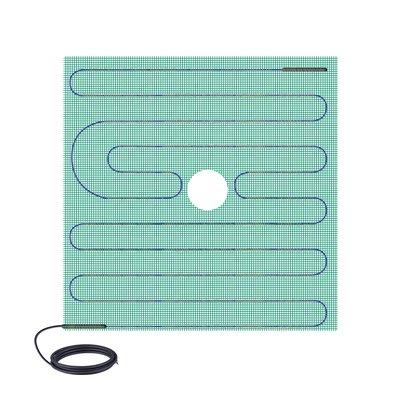 Tempzone shower mat 48x48 center 52d661