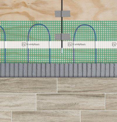 Floor heating flex roll floor sensor ae9ab2