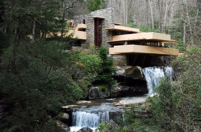 Fallingwater Famous Frank Lloyd Wright Design