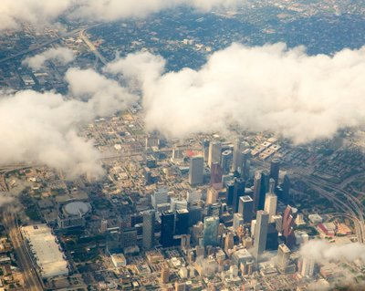 Houston Skyline - Aerial View