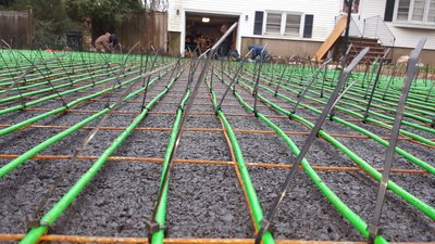 Lotacki Snow Melt Cable Installation 1