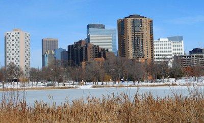 Minneapolis Winter Skyline