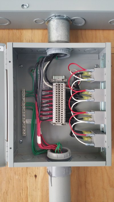 Nassir Snow Melt Power Control Installation 6