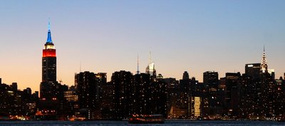 New York City Skyline from Distance-Cropped