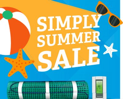 Simply Summer Sale Graphic
