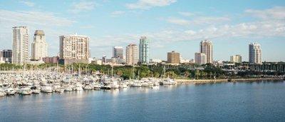 St. Petersburg, FL Skyline