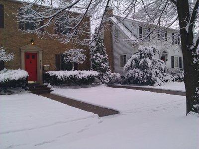 Walkway snow melt