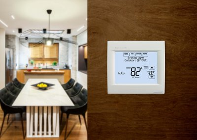 WarmlyYours's newest smart thermostat, the Honeywell Wi-Fi VisionPRO 8000