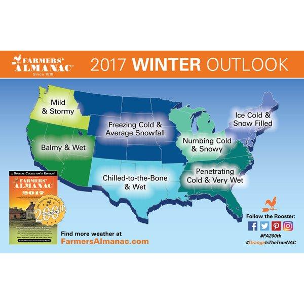 2017 Farmers Almanac Winter Forecast