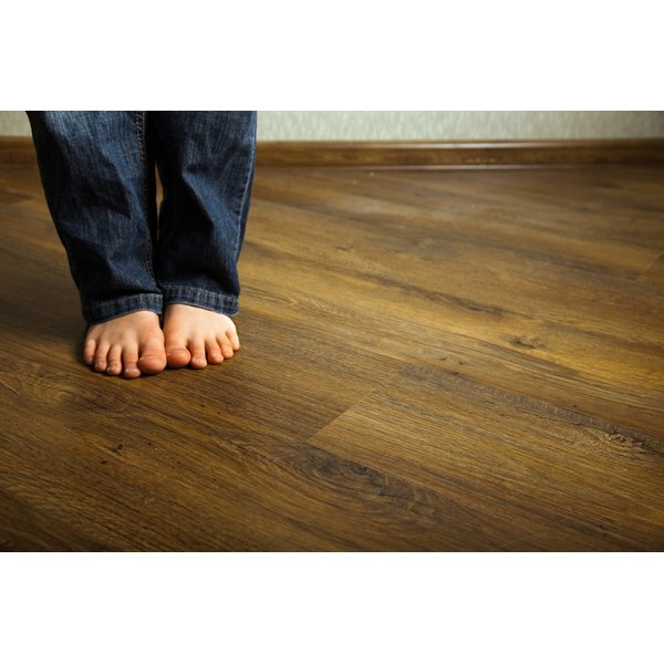 Radiant heat directly warms feet from the floor