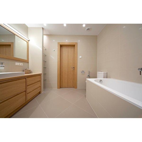 Bathroom with Radiant Floor Heat