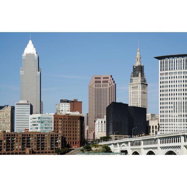 Cleveland Skyline Daytime