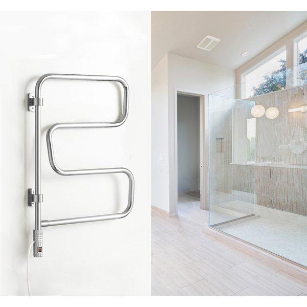 Elements plug-in Towel Warmer in bathroom