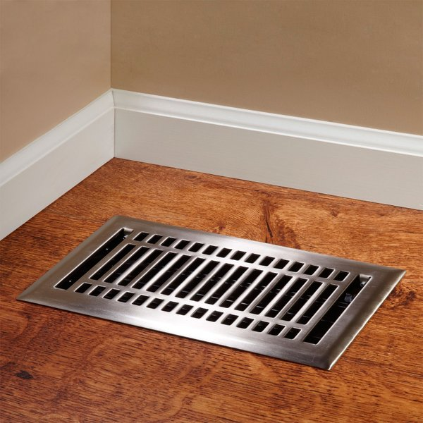 Forced air heating systems are prone to heat loss.