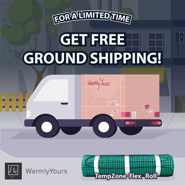 For a limited time, all orders will be eligible for free ground shipping.