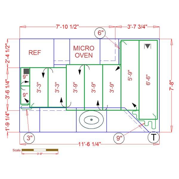 Kitchen installation plan