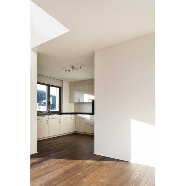 Kitchen Wood Floor with Radiant Heat