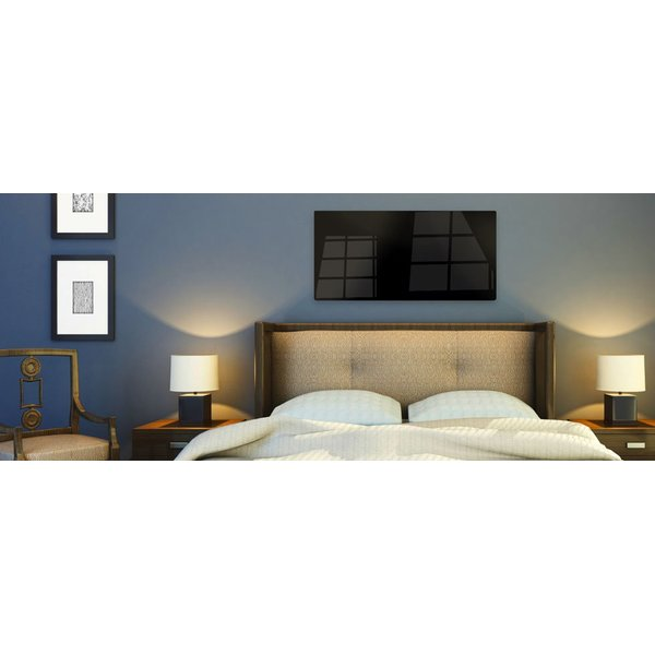 Radiant panels can add supplemental heat to your room.