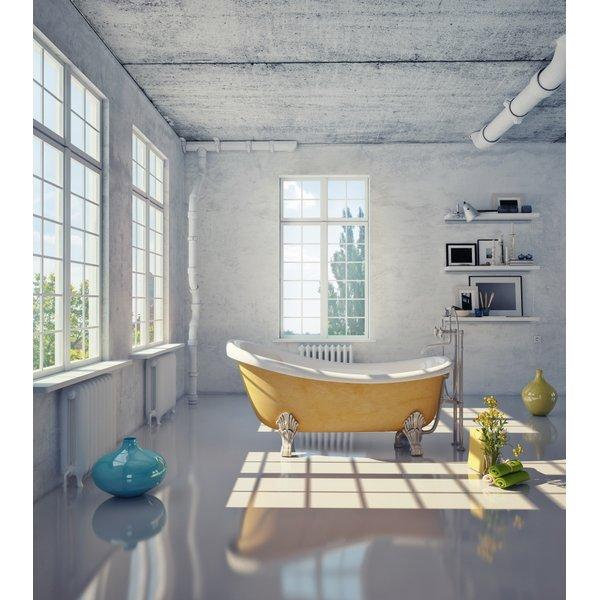 Bathroom With Electric In Floor Heating