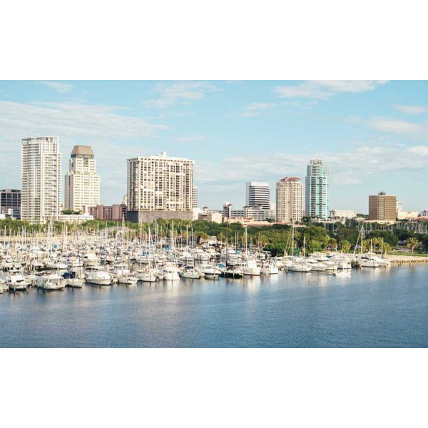 St. Petersburg, FL Skyline - Cropped