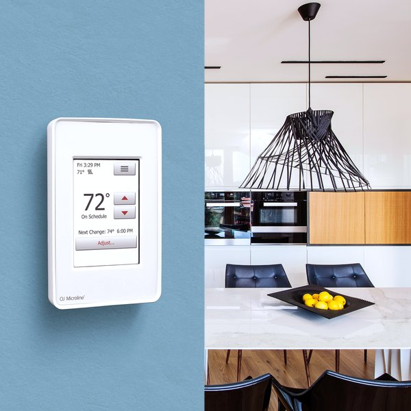 UDG4-4999-WY nSpire Touch Thermostat Lifestyle without LOGO