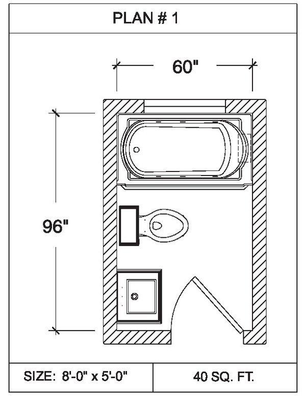 Bathroom Floor Plans 101 Bathrooms