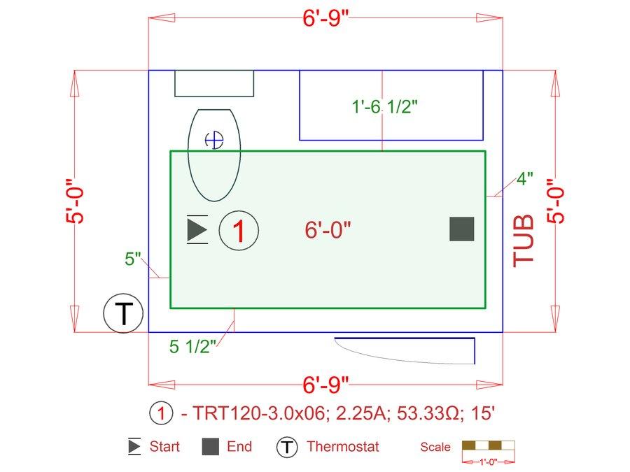 Floor plan easy mat a16b5b